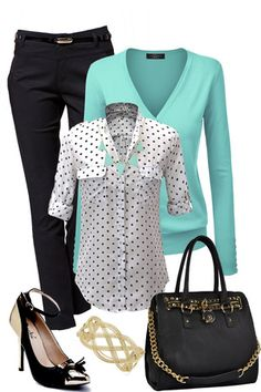 Outfits for life stylin' s'habiller, mode jeans, mode Stylish Work Outfits, Summer Work Outfits, Dressy Outfits, Mode Outfits, Office Outfits, Work Casual, Fall Outfits, Fashion Outfits, Fashionable Outfits