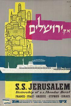 Jerusalem, ZIM, Israel