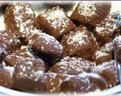 Biscuits de Noël chocolat noix de coco