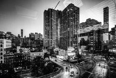 New York cityscape. 2015.