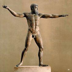Poseidon. c.460.B.C. National Archaeological Museum. Athens. http://hadrian6.tumblr.com