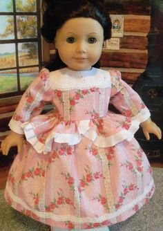 Special Occasion Dress for Cecile, Marie-Grace, Felicity  / Clothes for American Girl Dolls,Cecile, Marie-Grace