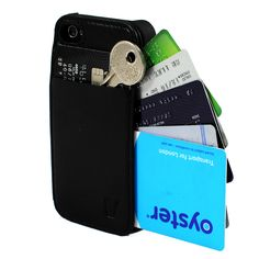 iPhone 4/4S Wallet Case Black ➨ http://fab.com/sale/22415/product/281846/?ref=browse=0