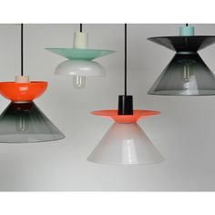 Would fit a vintage interior. GLASS LIGHT by JON GOULDER, LIGHTBOX AMSTERDAM
