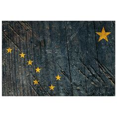 Picture it on Canvas 'Alaska State National Patriotic Flag' Painting Print Flag Painting, Painting Prints, Alaska Flag, Cool Walls, Metal Wall Art, Bold Colors, Online Art Gallery, Wall Decals, Canvas Art