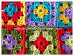 mi rincón de mariposas: Tutorial mantita de crochet tuto picture ! beautiful