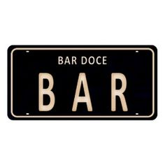 Placa-Decorativa-15x30cm-Bar-Doce-Bar-LPD-053---Litocart Light Up Box, Dinner Room, Wine And Beer, Beauty Care, Coffee Shop, Life Is Good, Decoration, Sweet Home, Funny Memes