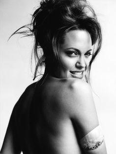 LOVE: Angelina Jolie: Wild At Heart - Allure by Mario Testino, November 2004