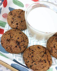 COOKIES 🍪 . . Aproveché el domingo por la tarde para preparar estás riquísimas cookies 🍪para desayunar y puedo adelantar que son unas…