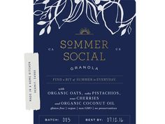 Sommer Granola by Amber Asay