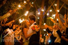 Lake Tahoe wedding photography sparkler exit #laketahoewedding #laketahoeweddingphotography #Edgewood © www.tahoeweddingphotojournalism.com
