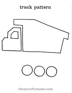 truck template More