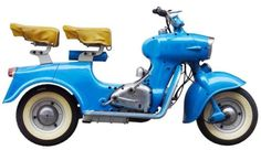 1955 Rumi-Formichino Scooter