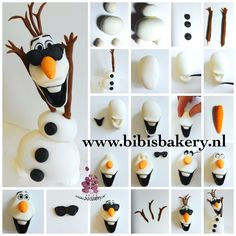 Here is a cool Olaf pictorial, for a cool boy that turns 7 this weekend, for Shannon. Have a wonderful weekend everybody, xxx Bibi #bibisbakery https://www.facebook.com/bibisbakery.nl
