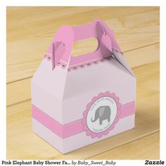yellow Baby Shower Favor Bags gray Elephant Child/'s Party Favor Bags set of 10 Pink