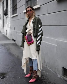 The Best Street Style Bags of Milan Fashion Week We Found On Instagram—Fall 2018 Edition - PurseBlog