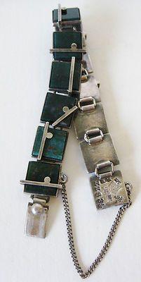 Vtg Mid Century 970 Sterling Silver Modernist Antonio Pineda Taxco Bracelet | eBay