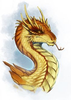 Citrine Wyvern by Adalfyre on DeviantArt