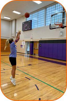 Basketball Shooting, Basketball Court, Portable Basketball Hoop, Improve Yourself, Sports, Life, Strong, Construction, Technology