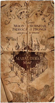 Marauder's Map - Harry Potter Wiki - Wikia