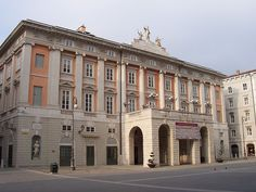 Teatro Lirico Giuseppe Verdi in Trieste, Italy