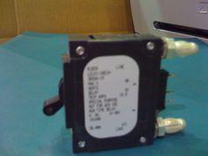 LELK11REC43032615 - AIRPAX - 15 AMP CKT BREAKER BULLET BLACK HANDLE 3 PIN W/ STRAP