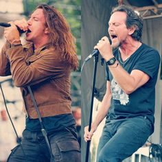 """Your hall pass to Eddie Vedder & the Eddie Vedder edition of """"hey girl"""" Pearl Jam Posters, Jeff Ament, Matt Cameron, Grateful Dead Music, Band Posters, Music Posters, Pearl Jam Eddie Vedder, Temple Of The Dog, Rockers"""