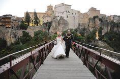 #Bodas #ideales en el #Parador de #Cuenca #puente #novios #love