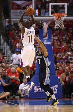 Jamal Crawford Los Angeles Clippers Jerryd Bayless Memphis Grizzlies