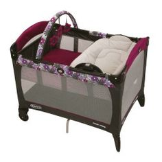 Graco Pack 'N Play Playard with Reversible Napper and Changer, Portia #play_yards #portable_play_yard_reviews #play_yard_gate #kids_play_yard #cosco_play_yard #play_yard_for_baby