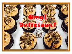WOW!  EVERYONE gets to enjoy our  new WUNDERBAR Feature Flavour  because the frosting is made with peanut and nut FREE WOWBUTTER! You won't want to miss this oneVisit Omg! Cupcakes at www.facebook.com/OmgCupcakesGP! Nut Free, Frosting, Cupcakes, Facebook, Desserts, Food, Tailgate Desserts, Cupcake Cakes, Deserts