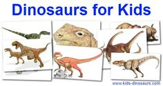 Kids Dinosaurs - facts, pictures, coloring and games.
