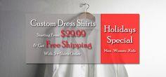 Design custom men's dress shirts at affordable price at www.nattyshirts.com/