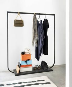'Sense of Space' by Asplund // New Furniture Collection for 2013, via Yellowtrace. Minimal clothes rack