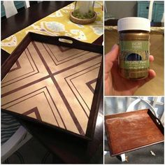 Quick & Easy Painted Tray DIY with Modern Masters Brass Metallic Paint | Project by Retro Ranch Reno
