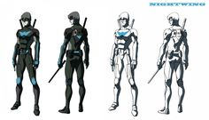 Legend of Korra director/artist Ki Hyun Ryu designed some character mock-ups a few years back–for an animated series that was set to star Batman sidekick Dick Grayson. The series never made it anywhere, but at least we get a glimpse of the concept art!