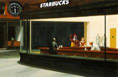 Nighthawks: McDonald's vs. Starbucks