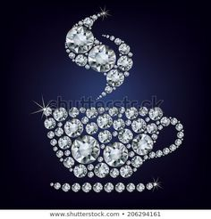 Vintage Jewelry Crafts Need a little Monday Motivation? Perhaps a sparkling cup of joe! Costume Jewelry Crafts, Vintage Jewelry Crafts, Antique Jewelry, Jewelry Frames, Jewelry Tree, Diy Jewelry, Jewelry Making, Coral Jewelry, Gold Jewellery
