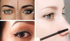 8 Cosmetic Tricks for Hiding Droopy Eyelids Makeup Tricks, Droopy Eyelids, Facial Cleansing Brush, Lipstick Swatches, Bronzer, Eyelashes, Eyeliner, Health And Beauty, Hair Beauty