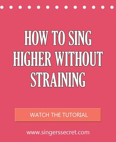 sing higher 1