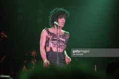 Prince performs a benefit concert for the Minnesota Dance Theatre at First Avenue nightclub in Minneapolis, Minnesota on August 3, 1983. (Photo by Jim Steinfeldt/Michael Ochs Archives/Getty Images)