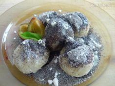 Slivkové guľky (bez zemiakov) - recept | Varecha.sk Ale, Recipies, Muffin, Breakfast, Recipes, Morning Coffee, Ale Beer, Muffins, Cupcakes