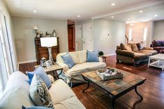 Dunwoody Home Renovation Basement Renovations, Home Renovation, Amp, Couch, Furniture, Home Decor, Decoration Home, Room Decor, Basement Remodeling