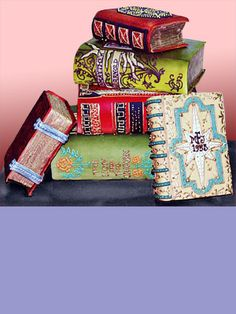 Books made out of cake; does it get better? (Colette's Cakes)