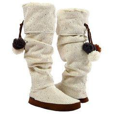 Get rid of the pom-poms & I'm down.  Muk Luks  Women's Winona Seq Slipper Bt at Famous Footwear