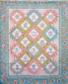 TEA TIME QUILT..............PC | Quilting | Pinterest | Tea time : tea time quilting - Adamdwight.com