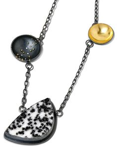 Starry Night Drusy Necklace by Patricia Tschetter