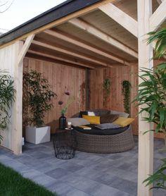 Zie je jezelf straks al zitten in je strak vormgegeven achtertuin met veel groene planten en trendy accessoires? Dat is best fijn koffiedrinken!