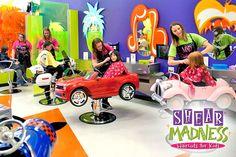 Kids Hair Salon, Best Hair Salon, Hair And Beauty Salon, Kids Barber Shop, Small Beauty Salon Ideas, Childrens Salon, Haircut Salon, Kids Spa, Dream Kids