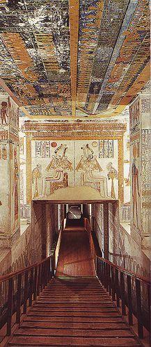 Cruceros por el Nilo en Egipto, El valle de los reyes http://www.espanol.maydoumtravel.com/Viajes-y-Tours-a-Egipto/4/0/